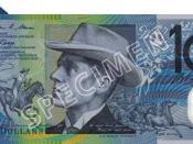$10 Australian note