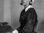 Portrait of Florence Nightingale.