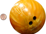 English: Electrons are much smaller than protons or neutrons. How much smaller? If an electron was the size of a penny, a proton or a neutron would have the mass of a large bowling ball!