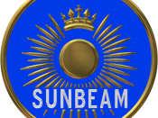 Sunbeam badge.