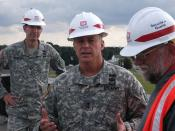 Maj. Gen. Cox visits SHAPE and Benelux Resident Office