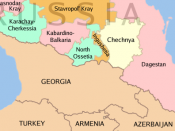 North Caucasus regions within the Russian Federation