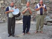 English: Armenian folk musicians.
