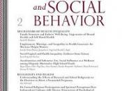 Journal of Health and Social Behavior