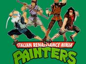 Italian Renaissance Ninja Painters