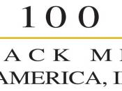Logo of the organization 100 Black Men of America