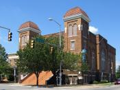 English: 16th Street Baptist Church in Birmingham, Alabama, photographed using a Canon Powershot S410 digital camera.