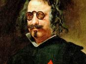 Spanish writer Francisco de Quevedo (1580–1645), with what appear to be