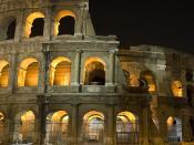 Rom: Colosseum.