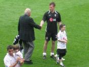 Al Fayed congratulates Brian McBride