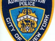 New York City Human Resources Administration Police Department