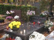 Władysław Szpilman's grave in Powązki Military Cemetery in Warsaw
