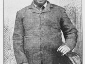 English: King Cetshwayo kaMpande (in caption called Cettiwayo), Zulu king who defeated the British army during the early battles of the Anglo-Zulu War.