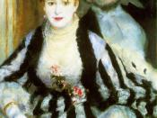 The Theater Box, 1874 by Pierre-Auguste Renoir, Courtauld Institute Galleries, London