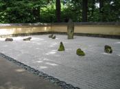 Dry zen garden at Portland Japanese Garden