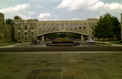 a picture from the Virginia Tech campus