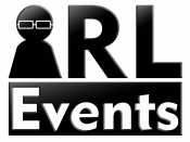 English: This is an official logo for IRL Event Management Inc. (dba: IRL Events).