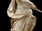 Sculpture of Julius Caesar by 17th century French sculptor Nicolas Coustou.