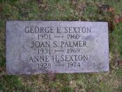 English: Grave of Anne Sexton, located at Forest Hills Cemetery in Jamaica Plain, Massachusetts.