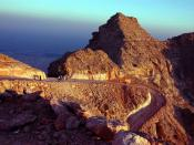 English: Jebel Hafeet mountain in Al Ain, United Arab Emirates