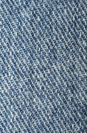 English: Denim, the jeans fabric Français : Du Denim, le tissu utilisé pour faire les blue-jeans.