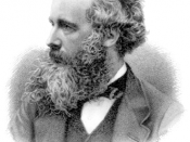 Engraving of James Clerk Maxwell by G. J. Stodart from a photograph by Fergus of Greenack