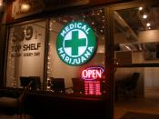 English: Discount Medical Marijuana cannabis shop at 970 Lincoln Street, Denver, Colorado.