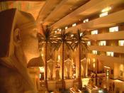 Luxor Hotel Lobby & Rooms, Las Vegas