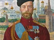 Nicholas II, the last emperor of Russia.