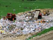 Polski: Wysypisko odpadów w Łubnej