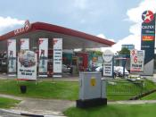 Caltex service station in Singapore