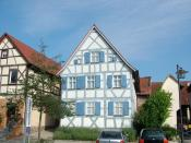 Buttenheim, Germany, Levi-Strauss house