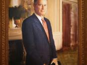 George Herbert Walker Bush, Forty-first President (1989-1993)