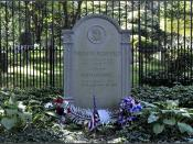 President Teddy Roosevelt's (and wife Edith's) Grave