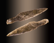 A Neolithic dagger from the Museum of Toulouse.