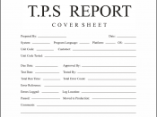 TPS report cover sheet.