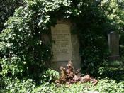 Deutsch: Grab von Albert Speer auf dem Bergfriedhof in Heidelberg