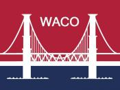 English: Flag of Waco, Texas