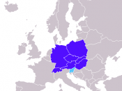 Central Europe according to Encarta Encyclopedia; Central European countries Slovenia in