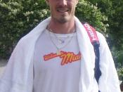 Marat Safin, former World No. 1 tennis player from Russia.