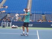 Marat Safin Practicing At The 2007 US Open