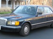 Deutsch Mercedes-Benz W126 500 SE, fotografiert in den Vereinigten Staaten. English Mercedes-Benz W126 500SE photographed in the United States.