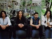 Kyrie Eleison, banda de rock, sesión de fotos