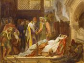 The Reconciliation of the Montagues and Capulets Watercolor, approximately 15.5 x 20 inches. Yale Center for British Art, New Haven.