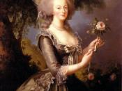 English: Queen Marie Antoinette of France, daughter of Empress Maria Theresa of Austria and Holy Roman Emperor Francis I, wife of King Louis XVI of France, 1783, Versailles