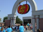 Entrance to the Jelly Belly Factory Tour