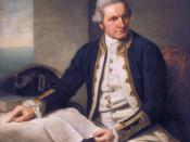Official portrait of Captain James Cook