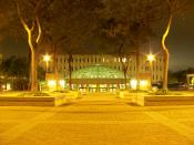 Love Library at San Diego State University in San Diego, California.