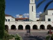 Student Services at San Diego State University. Picture taken on September 4, 2006 by User:Nehrams2020