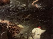 Pieter Bruegel the Elder - Landscape with the Fall of Icarus (detail) - WGA03324